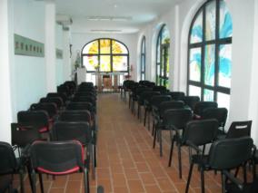 La cappella interna per le funzioni religiose